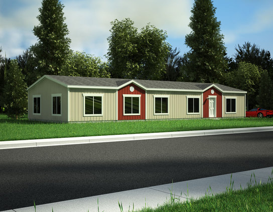 Model 28703w factory direct manufactured home for sale Modular home vs regular home