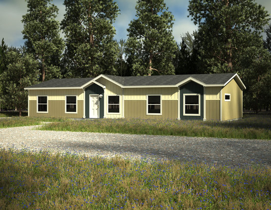 Triple wide manufactured homes skyline fleetwood models for Triple net houses