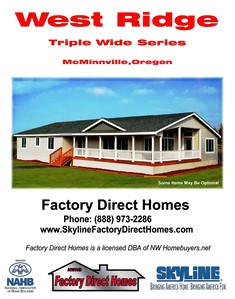 Featuring Great Triple wiide floor plans waiting for you to add your personal touch.